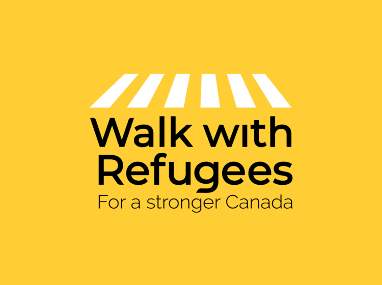 Walk with Refugees Logo